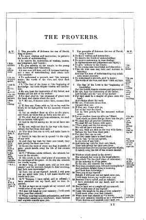 Proverbs tp