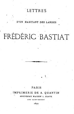Bastiat lettres1543 tp