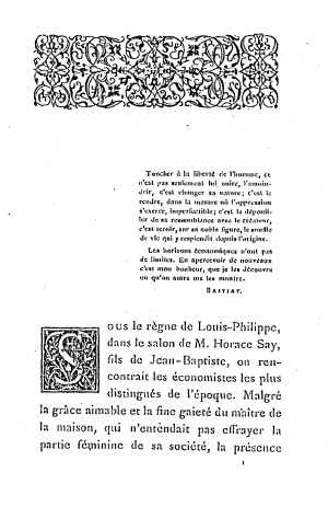 Bastiat lettres1543 toc