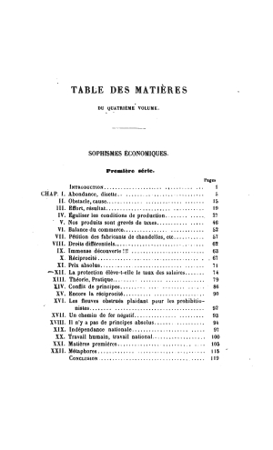 Bastiat oeuvres 1561.04 toc