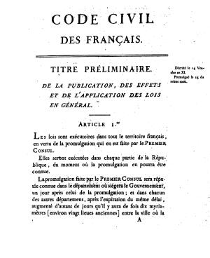 Civilcode 1565 toc