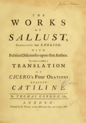 Gordon sallustworks1562 tp