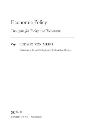 Mises economicpolicy1540 tp