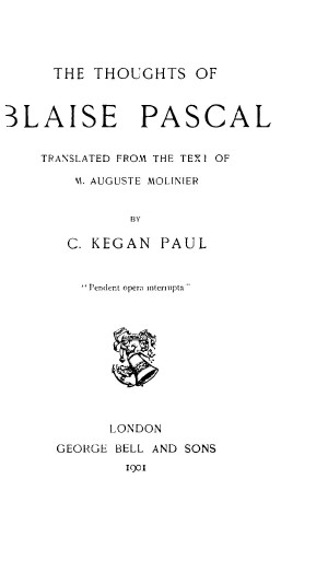 Pascal thoughts1409 tp