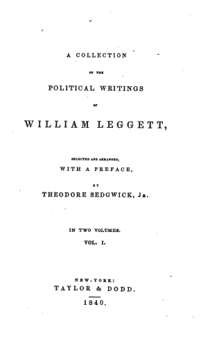 Leggett politicalwritings1605.01 tp