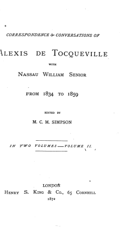 Tocqueville correspondence1603.02 tp