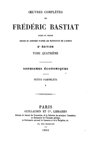 Bastiat oc vol4 1863 tp