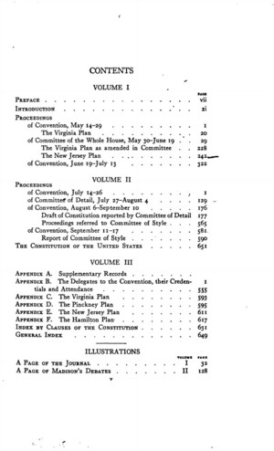 The Records of the Federal Convention of 1787, vol. 1 ...