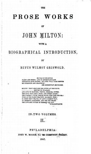 Enjoyable The Prose Works Of John Milton Vol 2 Online Library Of Lamtechconsult Wood Chair Design Ideas Lamtechconsultcom