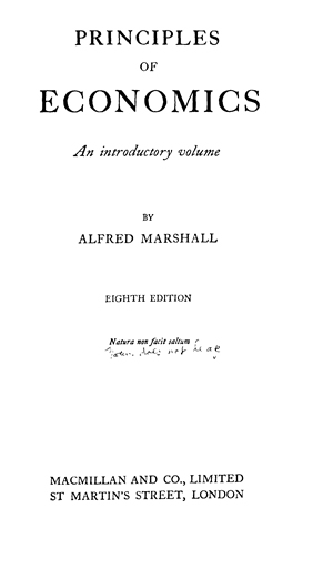 The Correspondence of Alfred Marshall Economist