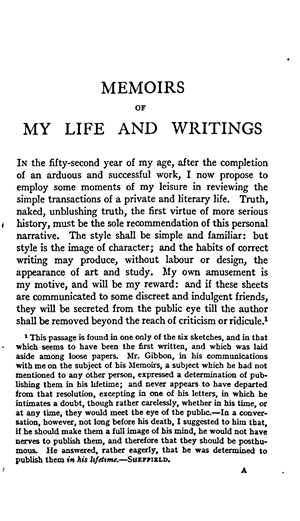 Essays on autobiography