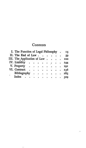 An Introduction to the Philosophy of Law - Online Library of Liberty